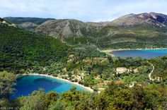 Desimi Beach Vlichos Lefkada island - Greeka.com | Greece | Greek islands