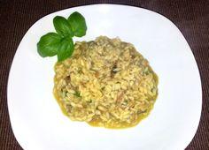 Risotto veganese con basilico ... fantastico!