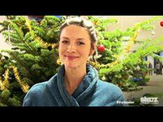 From Outlander Christmas Video - Caitriona Balfe Jamie Fraser, Claire Fraser, Jamie And Claire, Outlander Season 2, Outlander Book Series, Starz Series, Diana Gabaldon Books, Diana Gabaldon Outlander Series, Sam Heughan Outlander
