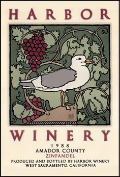 harbor winery  Artist: David Goines