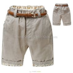 กางเกงขาสั้นเด็ก 2* 4 6* 8-* 12