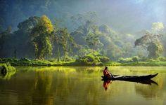 Situ Gunung Lake, West Java, Indonesia