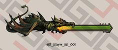 Dragon bar for your game interface.