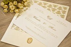 Convites de casamento - Clássico