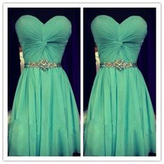 Homecoming Dress/Cute Homecoming Dress/Mint Green Homecoming Dress #H043