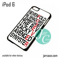 Avenged Sevenfold Quotes forever iPod Case For iPod 5 and iPod 6