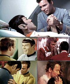 It's love! Spock and kirk
