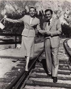Judy Garland and James Mason