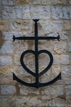 The Camargue Cross with Anchor and Heart. Cross Heart Tattoos, Anchor With  Heart Tattoo 62efd7e21ea
