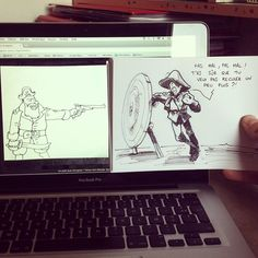 dessin-tir-cible Macbook, Ben Heine, Life Drawing, Real Life, Illustrations, My Love, Drawings, Art, I Want You