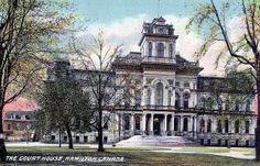 Court House, Hamilton, Ontario, Canada postcard