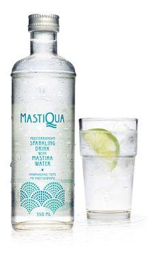 MASTIQUA sparkling drink with mastiha water