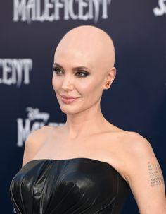 Bald Heads - Hairl Loss Tips Super Short Hair, Short Grey Hair, Short Hair Cuts, Short Hair Styles, Angelina Jolie Short Hair, Bald Head Women, Buzz Cut Hairstyles, Forced Haircut, Female Mohawk