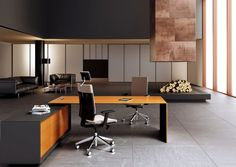 CEO desk by Mascagni
