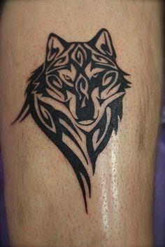 wolf tattoos tribal cool