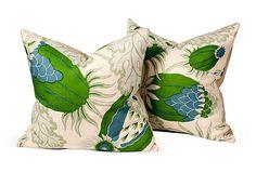 Christopher Farr Carnival Pillows, Pair on OneKingsLane.com