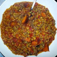 little island studios: Mediterranean Lentil Soup! Lentil Recipes, Soup Recipes, Recipies, New Recipes, Favorite Recipes, Healthy Recipes, Spinach Lentil Soup, Squash Soup, Butternut Squash