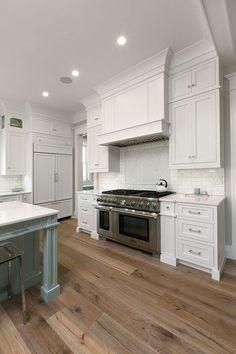 white kitchen | Mahshie Custom Homes