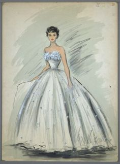 My Latest Fashion Obsession: Edith Head's Sketches | Lovelyish