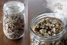 TUOREPURISTETTUA (aka Freshly Pressed blog by Marjo Vähäsarja): Homemade muesli with toasted seeds, nuts and berries | #homemade #muesli #nuts #seeds #berries