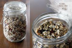 TUOREPURISTETTUA (aka Freshly Pressed blog by Marjo Vähäsarja): Homemade muesli with toasted seeds, nuts and berries | #homemade #muesli #nuts #seeds #berries