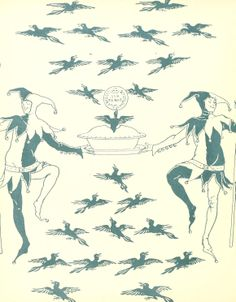 Endpaper design by Walter Crane.