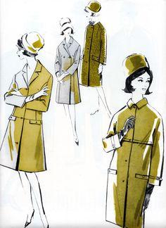 1960's coats