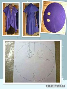 Coat Patterns, Dress Sewing Patterns, Clothing Patterns, Blouse Patterns, Diy Clothing, Sewing Clothes, Diy Clothes Kimono, Fashion Sewing, Diy Fashion