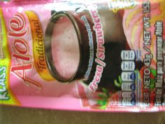 KLASS(R) Adicionado con / Added with Vitaminas y minerales /  Vitamins and minerals  Atole Tradicional  Sabor Artificial / Artificially Flavored Fresa / Strawberry Uso sugerido/Suggested use  CONT. NETO 43g / NET WT. 1.52 oz  F`ecula de Ma`iz para preparar Atole Corn Starch to prepare Atole  CONS`ERVESE EN UN LUGAR FRESCO Y SECO / KEEP IN A FRESH AND DRY PLACE LOTE Y FECHA DE CADUCIDAD:  VER SELLO LATERAL / LOT AND BEST BEFORE DATE IN LATERAL SEAL (R)MARCA REGISTRADA / REGISTERED TRADEMARK…
