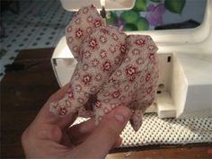 Free Sewing tutorial for a little plush elephant. Not hard to make larger either...