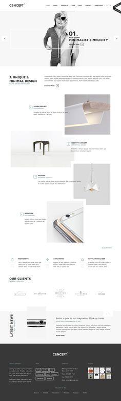 Concept - Design-Driven Multipurpose WordPress Theme. Live Preview & Download: https://themeforest.net/item/concept-designdriven-multipurpose-wordpress-theme/15591270?ref=ksioks