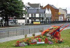 Carrickfergus on the East Antrim Coastline Northern Ireland.