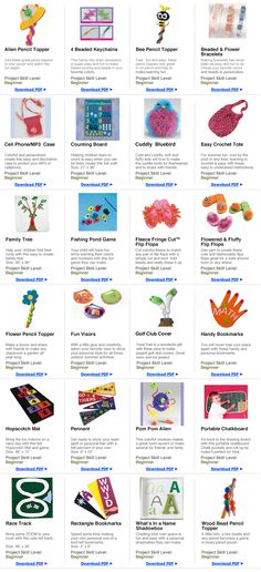 Free Craft Projects for Kids