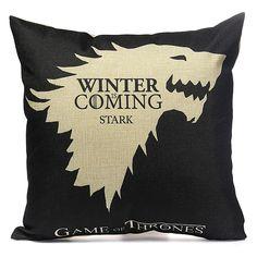 Honana WX118 Thrones Games Pillow Case Throw Car Sofa Seat