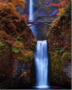 Multnomah Falls, OR #monogramsvacation