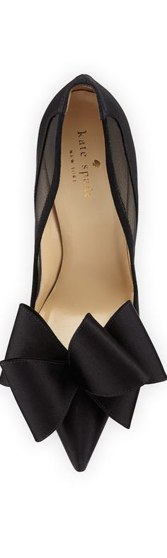 #Kate Spade New York Satin Bow #Pump<3