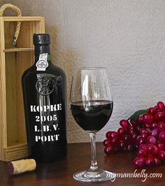 Learn About Port Wine: A Quick Tutorial from @Pamela