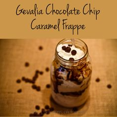 Tiaras - Blog - Make Your Own Chocolate Chip Caramel Frappe #CupofKaffe