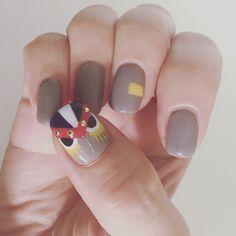 fendi monster nail( ¨̮ )❥︎❥︎