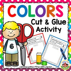 Reinforce color recognition in a fun, engaging manner with Color Recognition Cut and Glue Activity.