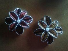 Broches con forma de flor