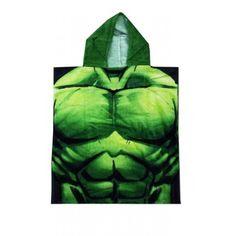Poncho de bain Avengers Hulk