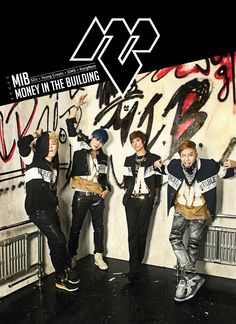 K-POP: M.I.B - Money In The Building (Photoshoot)