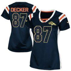 Eric Decker Elite Jersey-80%OFF Nike Eric Decker Elite Jersey at Broncos Shop. (Elite Nike Women's Eric Decker Navy Blue Jersey) Denver Broncos #87 NFL Draft Him Shimmer Easy Returns.