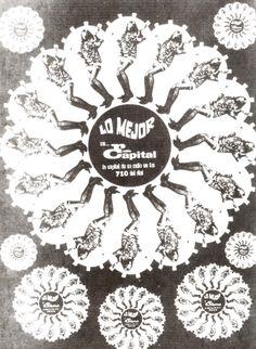 Década 70. Aviso de Radio Capital 710 AM . Fuente: Cuentos y Recuentos de la Radio en Venezuela por Oswaldo Yépez. -- Fundación Neumenn. Caracas, Editorial Arte, 1993.
