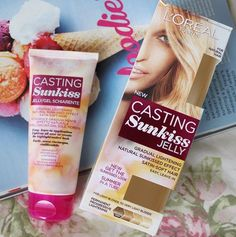 Add some subtle sun to your spring locks with L'oreal Casting Sunkiss Jelly - http://www.feelunique.com/p/LOreal-Paris-Casting-Sunkiss-Jelly-Permanent-Progressive-Lightening-Colour