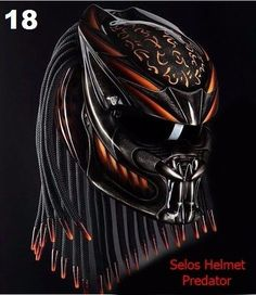 THE AVP PREDATOR HELMET STYLE DOT APPROVED | eBay Motors, Parts & Accessories, Apparel & Merchandise | eBay!