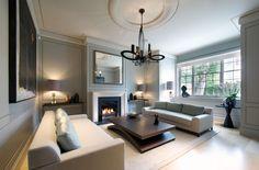 Modernista elegáns nappali - nappali ötletek, modern stílusban