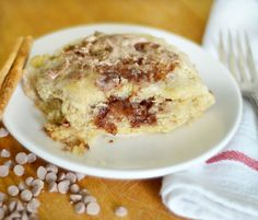 Breakfast Recipe: Giant Gooey Cinnamon Biscuits