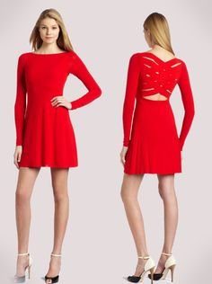 Bailey 44  Red Cocktail Dress